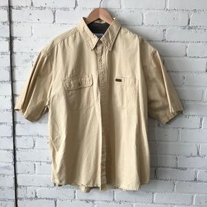 Carhartt button down short sleeve shirt xl